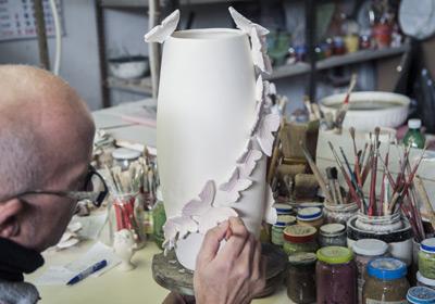 Italia Ceramiche Arzano Na.Dea Capodimonte